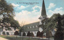 USA - Waco - St Paul's Episcopal Church And Manse - Waco