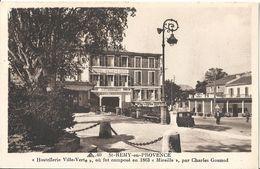 CPSM Saint-Rémy De Provence Hostellerie Ville-Verte Où Fût Composé En 1863 Mireille Par Charles Gounod - Saint-Remy-de-Provence