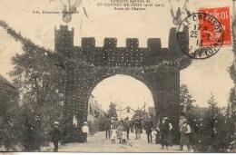 71  St-BONNET-de-JOUX  Concours Agricole (Aout 1911) Route De Chalons - Sonstige Gemeinden