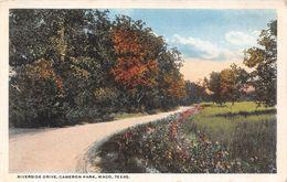 USA - Waco - Cameron Park - Riverside Drive - Waco