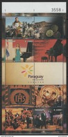 Paraguay (2016) - MS -   /  Musique - Musica - Musical Instruments - Music - Singer - Piano - Coins - Motorbike - Muziek