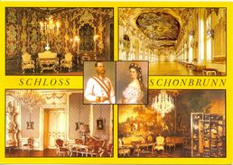 Autriche - Vienne - Château De Schönbrunn - Multivues - Verlag Bauer Nº 627 - 1811 - Château De Schönbrunn