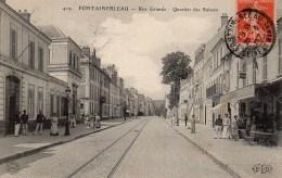 77 FONTAINEBLEAU Rue Grande  Quartier Des Suisses - Fontainebleau