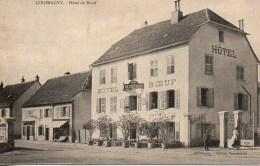 90 GIROMAGNY  Hôtel Du Boeuf - Giromagny