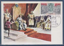 = Philippe Le Bel Etats Généraux De 1302 Carte 1er Jour Paris 16.11.68 N°1577 - Cartes-Maximum