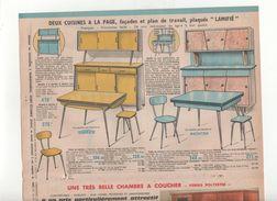 Publicité  Mobilier Cuisine FORMICA  1963 - Publicités