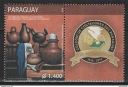 Paraguay (2016) - Set -   /  School - Art - Ceramics - Ceramique - Ceramica - Heritage - Porselein