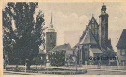 AK Sorau, Kirche U. Glockenturm - Posen