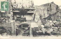 CPA Rognes Tremblement De Terre Du 11 Juin 1909 - Andere Gemeenten