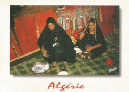 Les Femmes Touaregs (Algérie) Carte Postale De Bouarfa (Wilaya De Blida), Adressée Andorra, Avec Timbre à Date Arrivée - Afrique