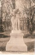France & Circulated,Jardin De La Fontaine, Nimes Rhône, Lisboa Portugal 1925 (84) - Monuments