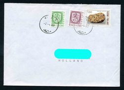 Finland Circulated Cover - Rocks Geology - Minerals