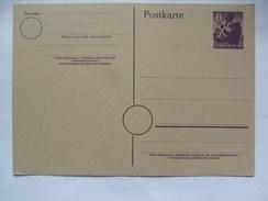 GERMANY -  Allied Occupation - Russian Zone - Stadt Berlin - Stationary Card 6pf - Zone Soviétique