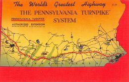 USA - The Pennsylvania Turnpike System - Greatest Highway - Etats-Unis