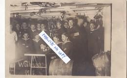Foto Kaiserliche Marine SMS S.M.S. Thüringen Weihnachten 1915 Deutsche Soldaten 1.Weltkrieg - Guerra, Militares