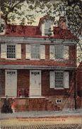 USA - Bellmeyer House Where Washington Stood Directing The Battle Of Germantown - Etats-Unis