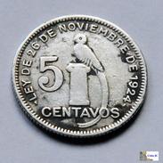 Guatemala - 5 Centavos - 1938 - Guatemala