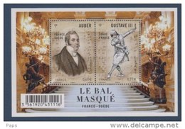 2012-N°F4706**(4706/4707)  LE BAL MASQUE - France