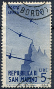 Stamp SAN MARINO 1946 Used - Posta Aerea