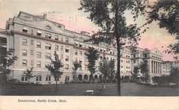 USA - Battle Creek - Sanatorium - Etats-Unis