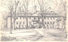 USA - Williamsburg - College Of William And Mary - Illustration - Etats-Unis