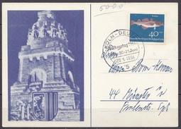 Köln-Deutz SST Sachsentag 1964 Auf Sonderkarte Nach Münster (10271 - Sellos