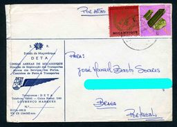 Mozambique Portugal 1973 Circulated Cover - Minerals Geology Gemstones - Minerals