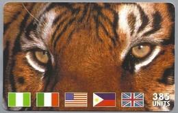 IT:.- MCI WORLDCOM. PREPAID CALLING CARD. 385 UNITS. International. Lit. 10.000. 2 Scans. - Telefoonkaarten