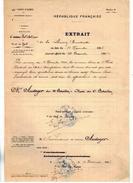 Dècision Ministèrielle - Affectation Du 12e Au 6e D'Artillerie A Pied - Ex-libris