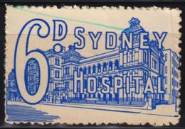 AUSTRALIA - Sydney Hospital / Charity LABEL CINDERELLA VIGNETTE - Used - Medicina