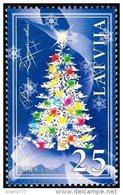 Latvia Lettland Lettonie 2008 (21) Christmas - Weihnachten - Noël - Christmas Tree - Latvia
