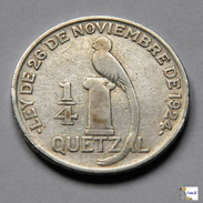 Guatemala - 1/4 Quetzal - 1926 - Guatemala