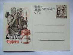 GERMANY - 1940 Postkarte - Mi P291 - Kampfen Arbeiten Opfern - Alemania