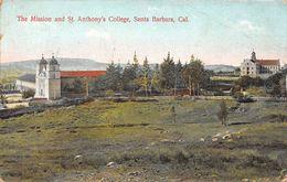 USA - Santa Barbara - The Mission And St Anthony's College - Santa Barbara