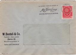 Brief Von Zürich (br2159) - Lettres & Documents