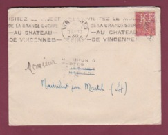 PERFORE - 171217 - 50 C Semeuse Lignée Perforé K.P KODAK PATHE S.A.F. Parie 8e En 1930 - Perfins
