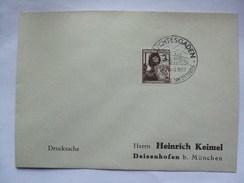 GERMANY - 1937 Cover With Berchtesgaden Sonderstempel  - Herrn Heinrich Keimel - Allemagne