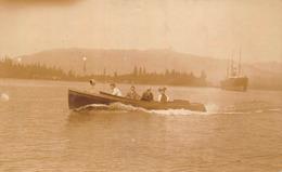 USA - A Boat With Passengers - Carte Photo - Etats-Unis