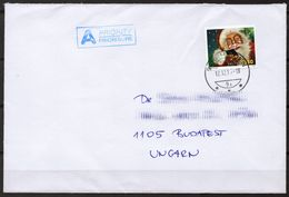 Cell Mobile Smart Phone - 2017 Switzerland - Christmas Santa Claus - Priority Prioriataire LETTER COVER - Informática