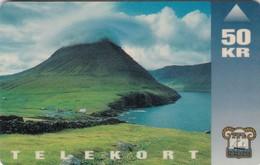 Faroe Islands, OD-002, Viðareiði, Only 15.000, 2 Scans. - Faroe Islands