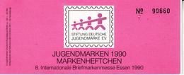 Berlin -  Jugend-Markenheftchen 1990 - [5] Berlino