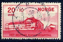 NORWAY 1931 Radium Hospital Used.  Michel 162 - Used Stamps