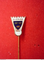 Sweden Badminton Federation Pin - Badminton