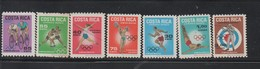 MNH Air Set COSTA RICA 1968 Olympics Games Mexico 19th - Summer 1968: Mexico City