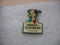 Pin's Portrait De Pinocchio Pour La Pub  D'une Pizzeria à Thalwil En Suisse - Comics