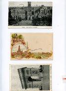 PARIS 75 LOT DE TROIS CARTES - Autres Monuments, édifices