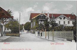 AESCHI → Dorfstrasse Mit Hotel Blümlisalp, Ca.1900   ►RRR◄ - BE Berne