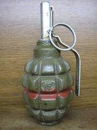 Polish Post War Practic F1 Grenade !Inert - Decotatieve Wapens