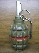 Polish Post War Practic F1 Grenade !Inert - Decorative Weapons