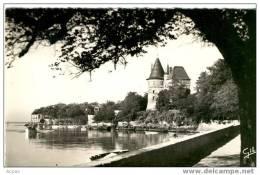 44 PORNIC Vue Du Chateau (cpsm) - Pornic